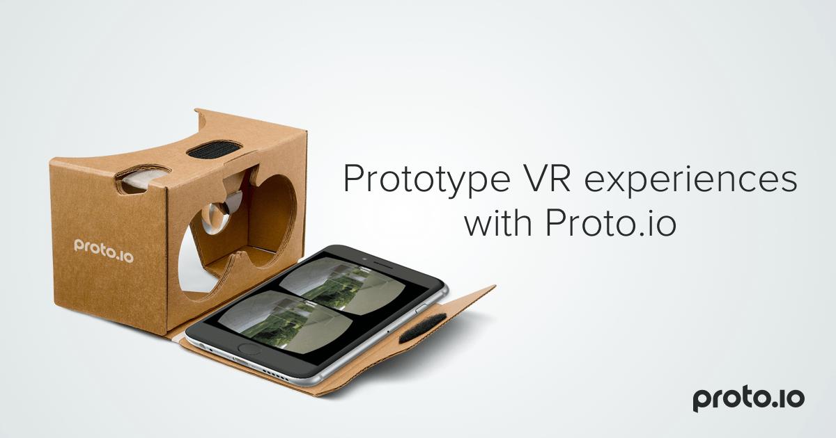Prototype VR experiences with Proto.io - Proto.io